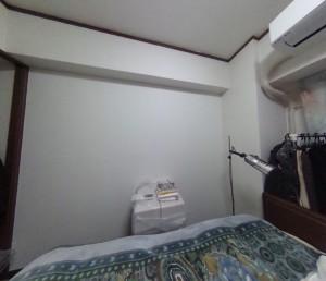 寝室リフォーム前