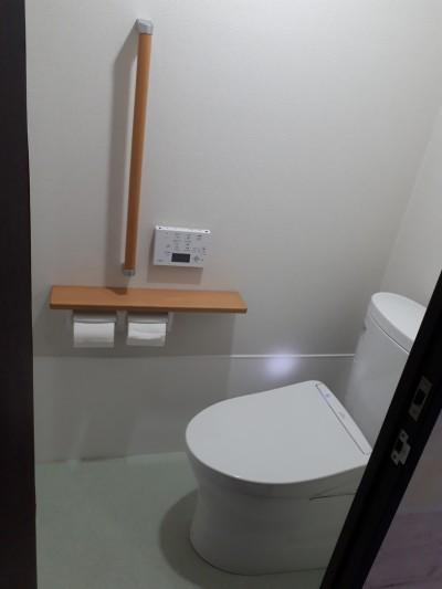 トイレアフター写真