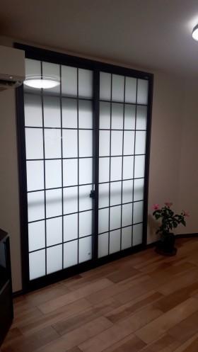 内窓インプラス新設(障子タイプ)