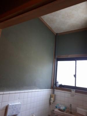 トイレ壁天井工事前