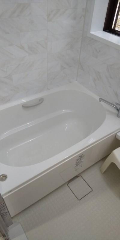 LIXILアライズへリフォーム後浴槽