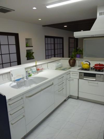 キッチンリフォームのアフター写真