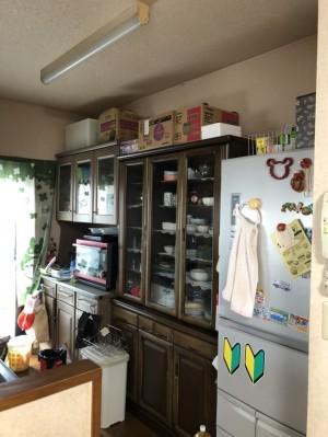 リフォーム前キッチン収納