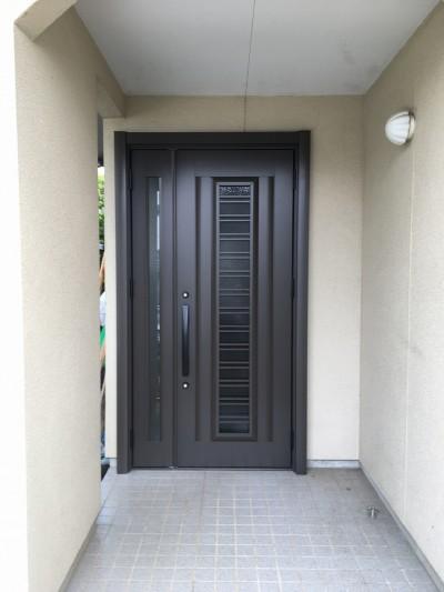 玄関リフォームのアフター写真