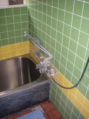 H様邸の浴室リフォームのビフォー写真