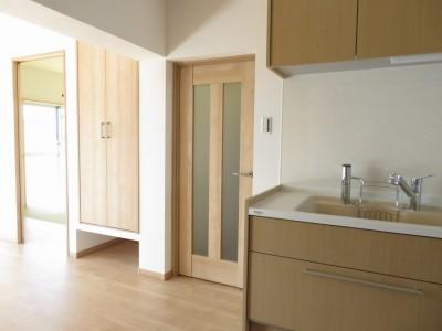 キッチン~廊下