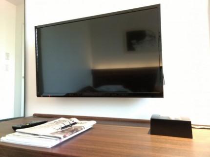 テレビの写真です