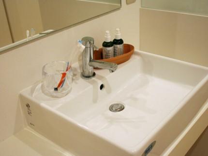 洗面台の写真です