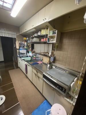 キッチン取替え前2