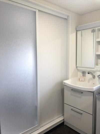 浴室入り口リフォーム後