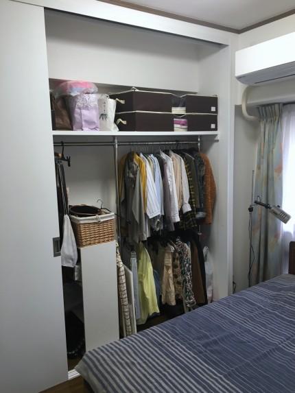 寝室クローゼット2